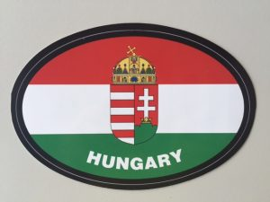Hungary Car Sticker