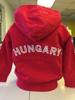 Hungarian Coat of Arms Hooded Sweatshirt